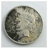1922D Peace Dollar