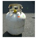 Propane tank, is empty