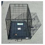 Small animal metal dog crate
