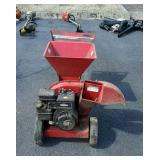 5 horse power chipper/shredder not tested by us