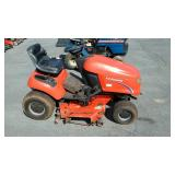 Simplicity riding mower, does not run and leaks