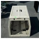 Calapsable dog crate