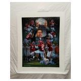Signed Daniel Moore Crimson Tradition A.P. Print