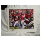 Daniel Moore The Last Pass signed Brodie Croyle