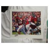 "Daniel Moore ""The Last Pass""  signed Brodie Croyle"