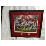 Daniel Moore The Blowout AP Framed Signed