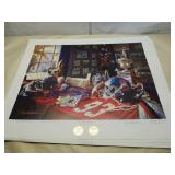 "Daniel Moore A.P. ""Ole Miss Legacy"" signed print"
