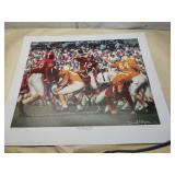 "Daniel Moore ""Third Saturday Classic"" signed print"