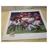 "Daniel Moore  ""Rocky Stop"" signed and numbered"