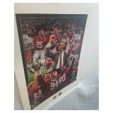 "Signed Daniel Moore ""the tradition Continues"" AP"