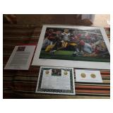 "Daniel Moore A.P. ""The Shutout"" signed print"