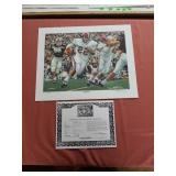 "Daniel Moore limited edition ""iron bowl gold""1971"