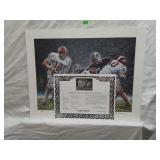 Signed Daniel Moore Iron Bowl Gold 1967 Print