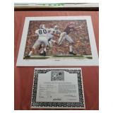 "Daniel Moore "" Iron Bowl Gold 1964"" print"