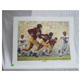 "Daniel Moore ""iron bowl gold 1948"" signed print"