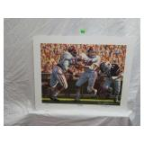Signed & Numbered Daniel Moore Iron Bowl Print