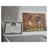 "Daniel Moore "" iron bowl gold 1961"" signed print"