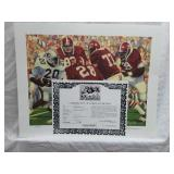 Signed Daniel Moore Iron Bowl Gold 1978 Print