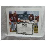 Signed Daniel Moore Iron Bowl Gold 1953 Print