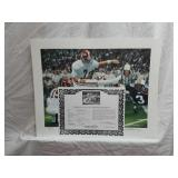 Signed Daniel Moore Iron Bowl Gold 1985 Print