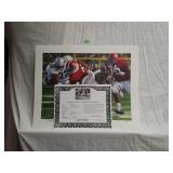 Signed Daniel Moore Iron Bowl Gold 1984 Print