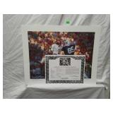 Signed Daniel Moore Iron Bowl Gold 1981 Print