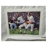 Signed Daniel Moore Iron Bowl Gold 1979 Print