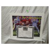Signed Daniel Moore Iron Bowl Gold 1980 Print