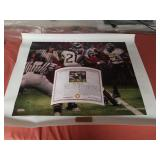 "Daniel Moore A.P. ""the catch"" canvas signed"