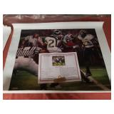 "Daniel Moore "" the catch"" canvas signed"
