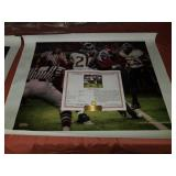 "Daniel Moore ""the catch"" canvas classic signed"