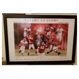 Signed Ben Teeter Alabama Football Saban Print