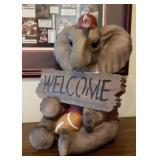 Alabama Football Polyresin Elephant