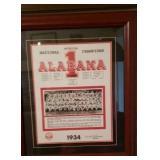 Alabama 1934 Reprint Very Cool