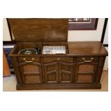 Vintage Philco Console Radio