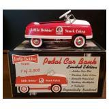 Little Debbie Metal Pedal Car Bank