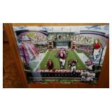 Alabama Field of Champions Print on Canvas