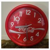 Enjoy Coca-cola battery powered clock