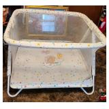 Large baby crib netted