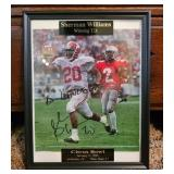 Shernan williams autographed pictured