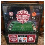 Alabama National champions 2016 plaque