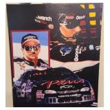 On canvas print of Dale Earnhardt