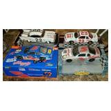 Lot of 4 nascar 1:18 scale collectors cars