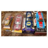 Lot of 4 nascar 1:24 and 1:43 scale collector car