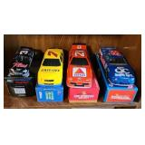 Lot of 4 1:43 and 1:24 scale collectable cars