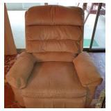 Franklin Tan Khaki Colored Swivel Rocking Chair