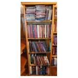 Bookshelf Full of CD