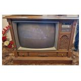 Vintage Magnavox Digital T.V. Console