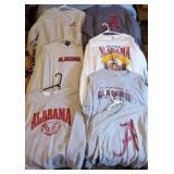 7 Alabama Crimson Tide Sweatshirts, TShirts, etc