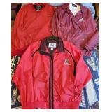 Lot of 3 Alabama Crimson Tide Jackets
